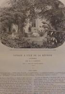 TOUR DU MONDE CHARTON 1862 GRAVURES ENGRAVINGS. ILE DE LA REUNION - Boeken, Tijdschriften, Stripverhalen