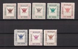 Albanien - Republik Korca - 1917 - Michel Nr. 3/10 - Ungebr. - 110 Euro - Albania