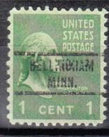 USA Precancel Vorausentwertung Preo, Locals Minnesota, Bellingham 734 - Vereinigte Staaten