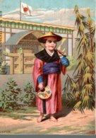 CHROMO  EXPOSITION UNIVERSELLE DE 1878  JAPON - Chromo