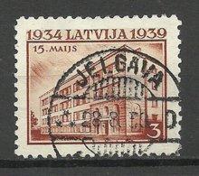 LETTLAND Latvia 1939 Michel 271 O JELGAVA Nice Cancel - Lettland