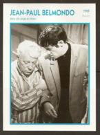 PORTRAIT DE STAR 1962 FRANCE - ACTEUR JEAN PAUL BELMONDO JEAN GABIN Dans UN SINGE En HIVER - ACTOR CINEMA FILM PHOTO - Fotos