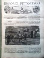 Emporio Pittoresco Del 19 Agosto 1877 Telaio Murkland Macchina Per Volare Piatra - Voor 1900