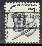 USA Precancel Vorausentwertung Preo, Locals Minnesota, Bingham Lake 843 - Vereinigte Staaten