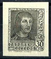 España Nº 844Aeca Sin Goma. Cat.190€ - 1931-50 Nuevos & Fijasellos