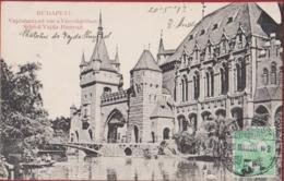 Hongarije Hongary Ungarn Hongrie Magyarorszag Budapest Vajdahunyad Var A Varosligetben Schloss 1913 Old Postcard - Hongarije