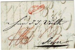"1830, "" GR. SZIGETH "" Rot, A2517 - Österreich"