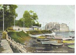 83 Toulon Boulevard Du Littoral  Et Port St Louis  Traw Barques Animée - Toulon