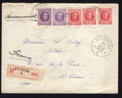 BELGIQUE  BELLE  ENVELOPPE  AVEC  C A D  DU  20  DECEMBRE  1928 , A  VOIR . - Postmark Collection