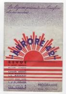 """MILITARIA  -  LA LEGION  -  """" Aurore 42 """"  -  Programme  -  Revue à Grand Spectacle  - 1942 - Riviste & Giornali"""