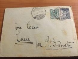 BUSTINA LETTERA VIAGGIATA 1918 - Vecchi Documenti