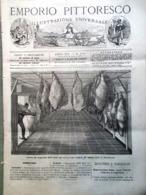 Emporio Pittoresco Del 2 Settembre 1877 Refrigeratore Case Operai Romania Russi - Voor 1900