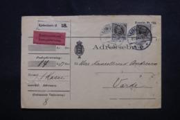 DANEMARK - Enveloppe Mandat Contre Remboursement De Copenhague Pour Varde, Affranchissement Plaisant - L 46517 - Briefe U. Dokumente