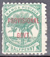 SAMOA    SCOTT NO. 31   NO GUM, UNUSED    YEAR  1899 - Samoa
