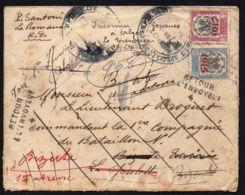 BELGIQUE  BELLE  ENVELOPPE  AVEC  PLUSIEURS  OBLITERATIONS , A  VOIR . - Postmark Collection