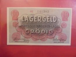 GRÖDIG (CAMP-LAGER) 10 HELLER ND (1916-17) (B.9) - [11] Lokale Uitgaven
