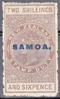 SAMOA    SCOTT NO. 121   MINT HINGED    YEAR  1914 - Samoa