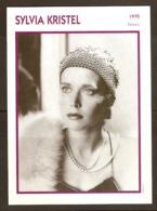 PORTRAIT DE STAR 1970 FRANCE - ACTRICE SYLVIA KRISTEL - ACTRESS CINEMA FILM PHOTO - Fotos