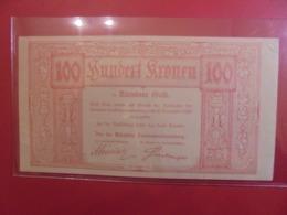 KÄRNTNER GELD 100 KRONEN 11 NOVEMBRE 1918 (B.9) - [11] Lokale Uitgaven