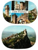 REPUBBLICA DI SAN MARINO - 2 CARTOLINE  -  (RSM) - San Marino