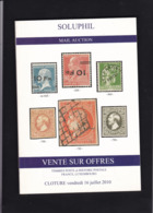 CATALOGUE DE VENTE SOLUPHIL 114 Eme - Catalogues For Auction Houses