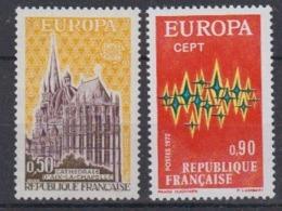 Europa Cept 1972 France 2v ** Mnh (45189) - Europa-CEPT
