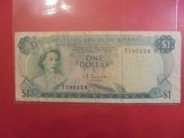 BAHAMAS 1$ 1974 SIGNATURE A CIRCULER (B.9) - Bahamas