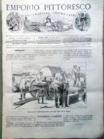 Emporio Pittoresco Del 23 Settembre 1877 Officina Di Ussari Legno Curvato Pitone - Voor 1900