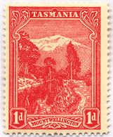 * 1902, 1 D., Carmine-red, Perf. 12 1/2, Inverted Wmk, MH, VF!. Estimate 1.000€. - Australien
