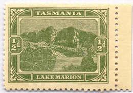 * 1905, 1/2 D., Yellow Green, Perf. 11:11:11:12 1/4, Right Margin Copy, MH, VF!. Estimate 600€. - Australien