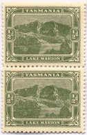 */pair 1905, 1/2 D., Yellow Green, Pair, Perf. 11:12 1/4 (!), MH, VF!. Estimate 1.200€. - Australien