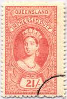 O 1895, 21 S., Rose Red, Wmk 10, Black Single Circle Canc., Fiscal Parliament Presentation Proof, LPOG, F!. Estimate 200 - Australien