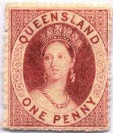 * 1860-61, 1 D., Carmine-rose, MH, F!. Estimate 120€. - Australien