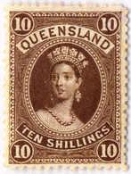 * 1895, 10 S., Brown, MH, XF!. Estimate 550€. - Australien