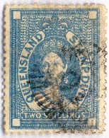 O 1871, 2 Sh., Blue, Wmk, XF!. Estimate 300€. - Australien