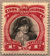 * 1932, 1 D., Black And Lake, SG 100b Variant With Perf Compound Of 13 And 14, MH, VF!. Estimate 245€. - Neuseeland