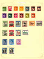 * 1919-1974, Very Nice Collection On 9 Album Pages, All MH, From 1919-74 Many Issues Almost Complete, An Attractive Coll - Neuseeland