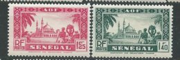 SENEGAL N° 165/66  ** TB - Unused Stamps