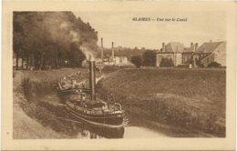 Sedan Glaires Vue Sur Le Canal - France