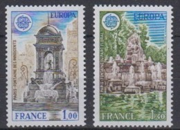 Europa Cept 1978 France 2v ** Mnh (45189D) - Europa-CEPT
