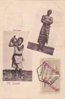 REPUBLICA ANGOLA - * SERVICAES - 232 LOANDA * - Stamp Correios Angola Loanda 18-5-14=19 Central - Angola