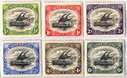 * 1901, 1/2 D. - 6 D., Set Of (6), MH, VF - XF!. Estimate 220€. - Papua-Neuguinea