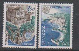 Europa Cept 1978 Monaco 2v ** Mnh (45189E) Promo - Europa-CEPT