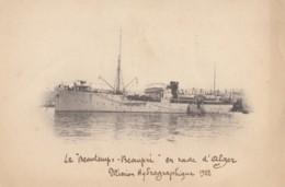 """CPA - Le Navire Océanographique """" Beautemps Beaupré """" En Rade D'Alger Mission Hydrographique 1922 - ( Marine Nationale ) - Krieg"""