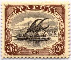 * 1907-10, 2 Sh. 6 D., Black And Brown, Inverted Wmk., MH, XF!. Estimate 200€. - Papua-Neuguinea