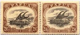 * 1910, 2 Sh. 6 D., (2), Black And Brown, MH, VF!. Estimate 200€. - Papua-Neuguinea