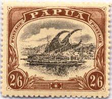 * 1910, 2 Sh. 6 D., Black And Brown, Inverted Wmk., MH, F - VF!. Estimate 500€. - Papua-Neuguinea