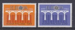 Europa Cept 1984 Finland 2v ** Mnh (45189G) - Europa-CEPT