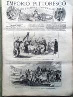 Emporio Pittoresco Del 30 Settembre 1877 Fiammiferi Thiers Acquario Di New York - Voor 1900