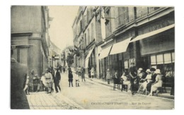 CPA 16 CHATEAUNEUF RUE DE COGNAC - Chateauneuf Sur Charente